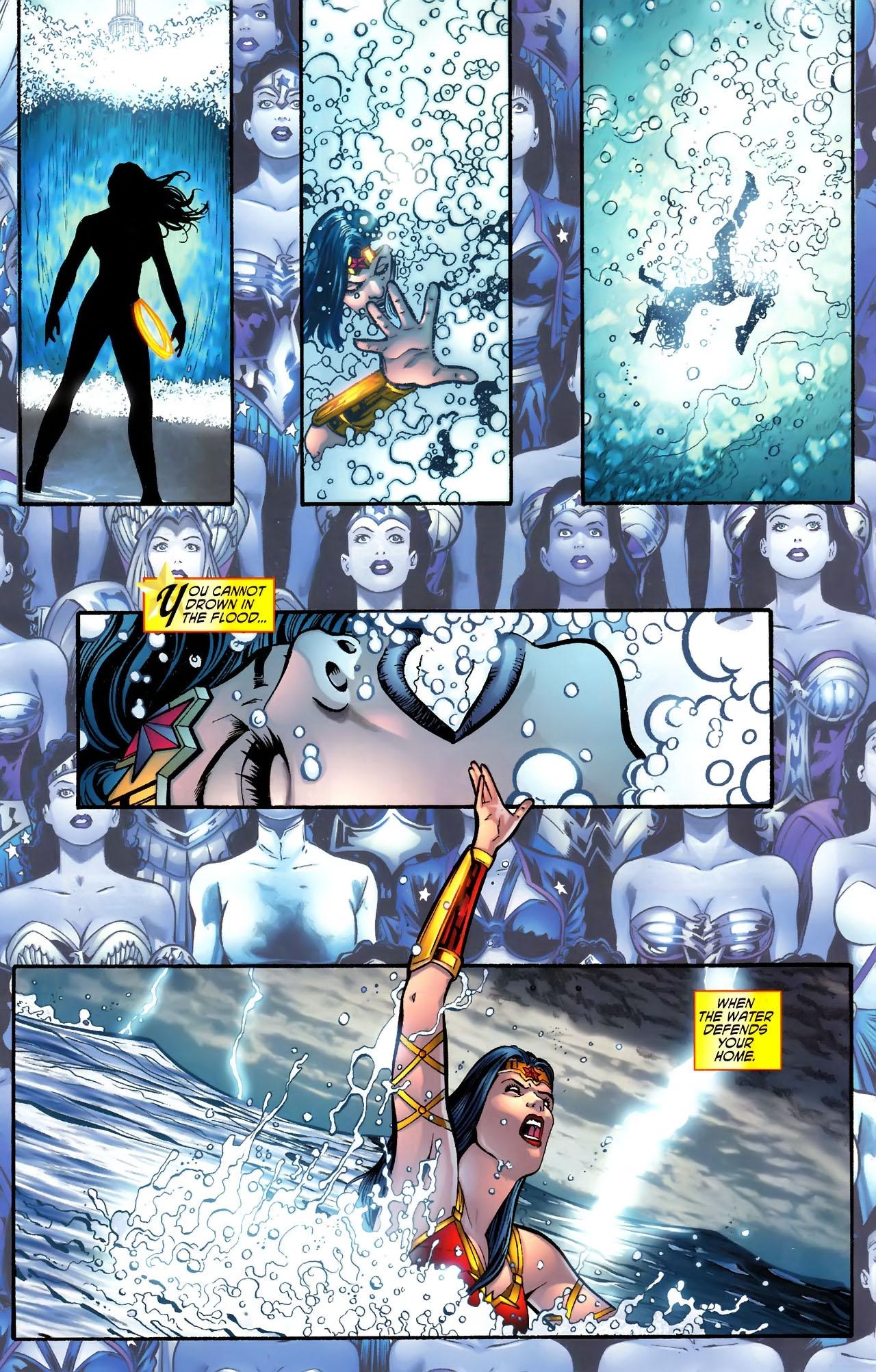 Read online Wonder Woman (2006) comic -  Issue #609 - 16