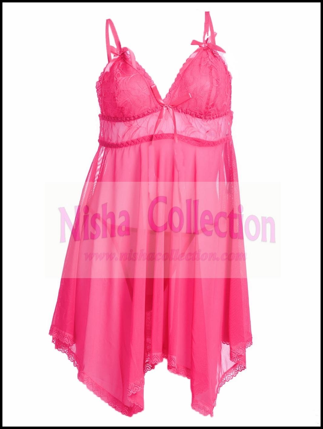 Harga Jual Baju Tidur Wanita Babydoll Lingerie Teddy Sexy 087 Nisha Collection Malaysia Online