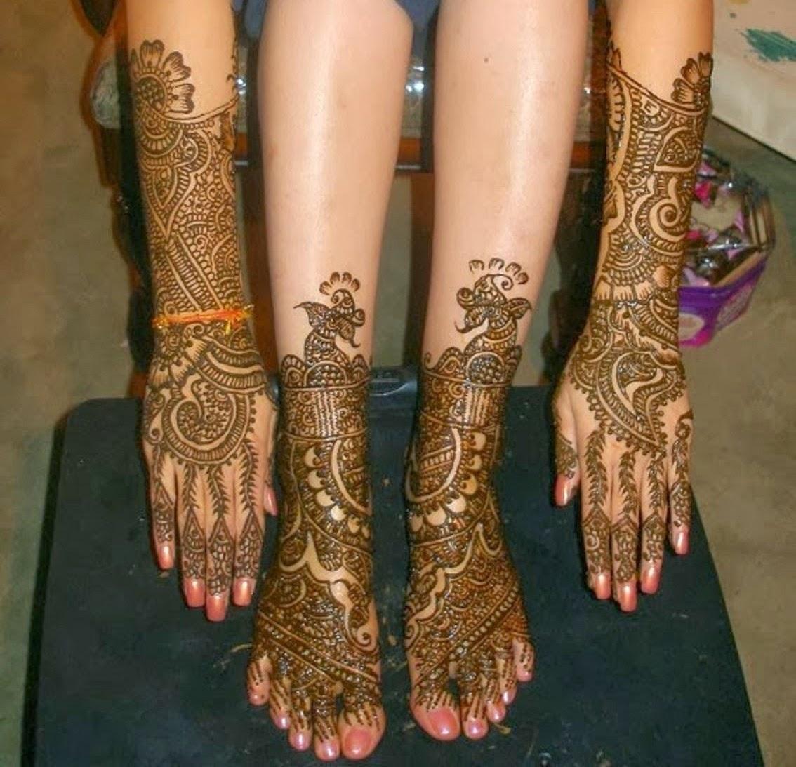 Bridal Mehndi Designs New Bridal Feet And Hand Mehndi