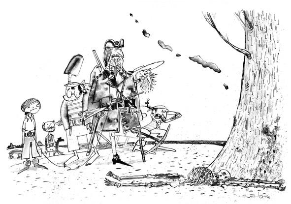 Wilbur Dawbarn Cartoons, Comics and Illustration