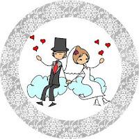 Dibujos novios boda