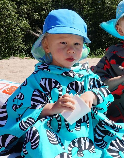 ompele rantavaate lapselle