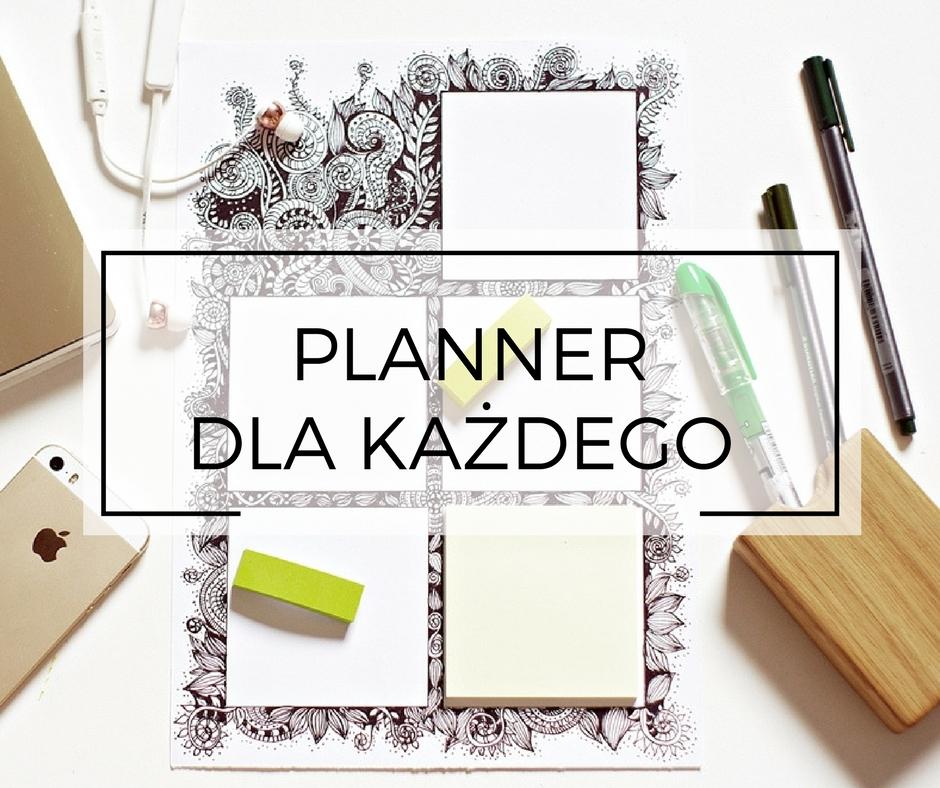 Jak się zorganizować? Darmowy planner do pobrania dla czytelników www.any-blog.pl. Zorganizuj się i zbierz swoje notatki w jednym miejscu. Wydrukuj planner i działaj!