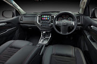 Holden Colorado SportsCat by HSV 4x4 Crew Cab (2018) Dashboard