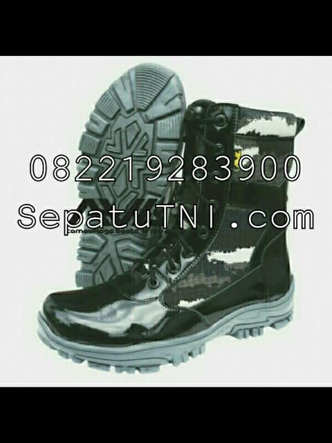 Sepatu PDL Jatah Pembagian TNI AL terbaru loreng KRI merk AWL