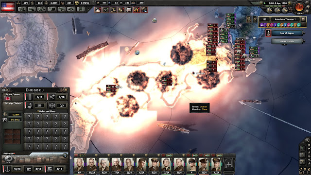 Hearts of Iron IV, My Atomic Crimes home islands nuked