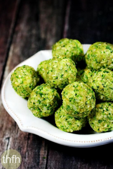 Gluten-Free Vegan Raw No-Cook Broccoli Balls