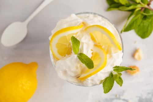 Receta de Batido de Limón