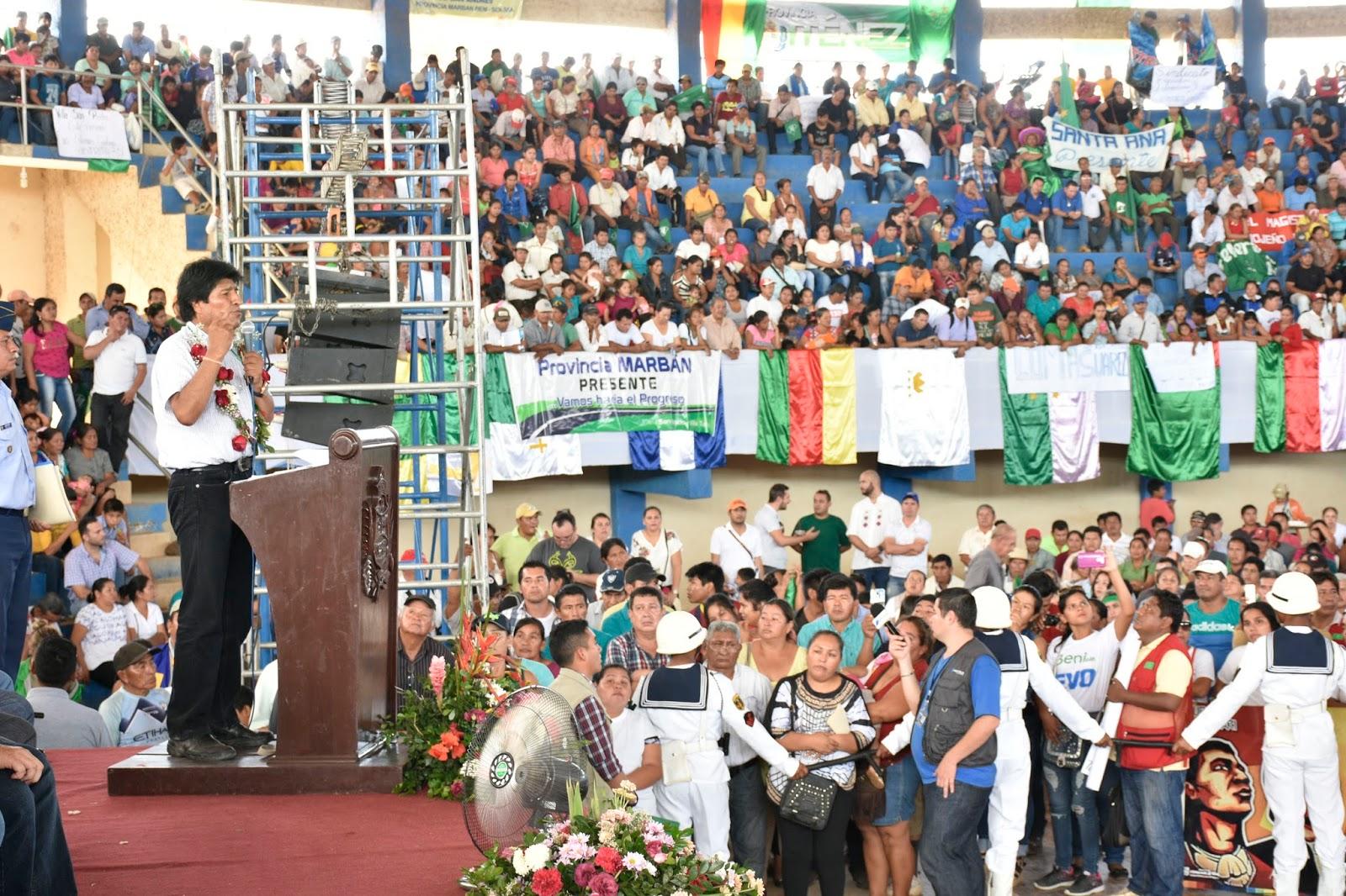 Morales firmó una ley en 2011 y la abrogó este domingo, ambas referidas al TIPNIS