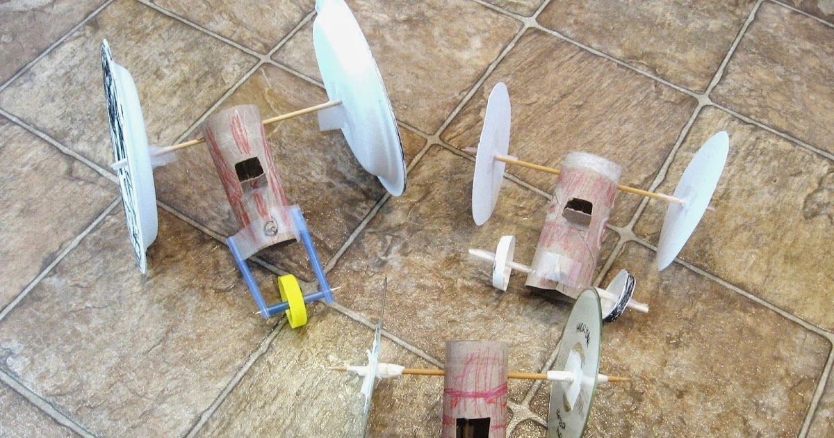 Almost Unschoolers Summer Fun 2014 Rubber Band Racers