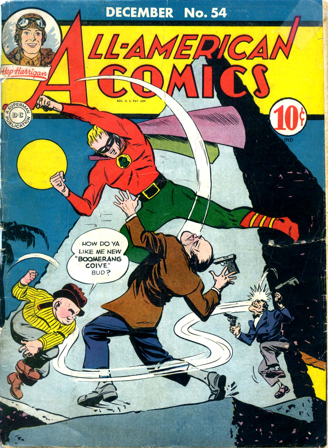 Read online All-American Comics (1939) comic -  Issue #54 - 1