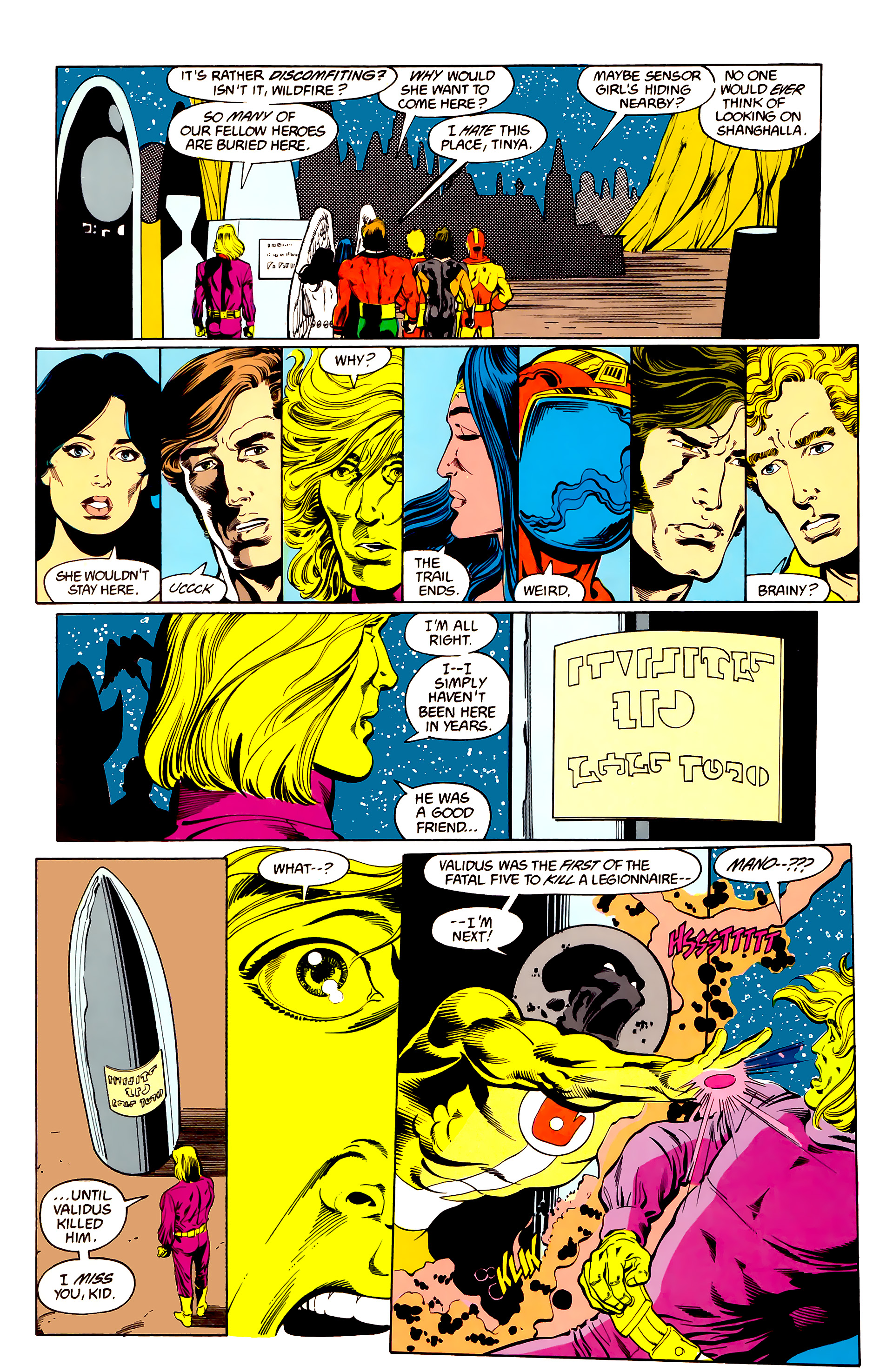Legion of Super-Heroes (1984) 25 Page 12