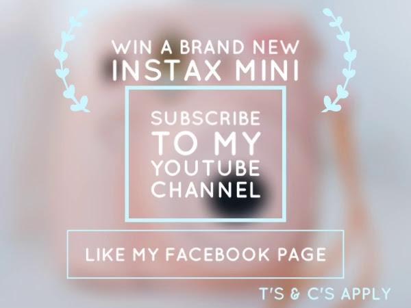 WIN A Brand New Instax Mini