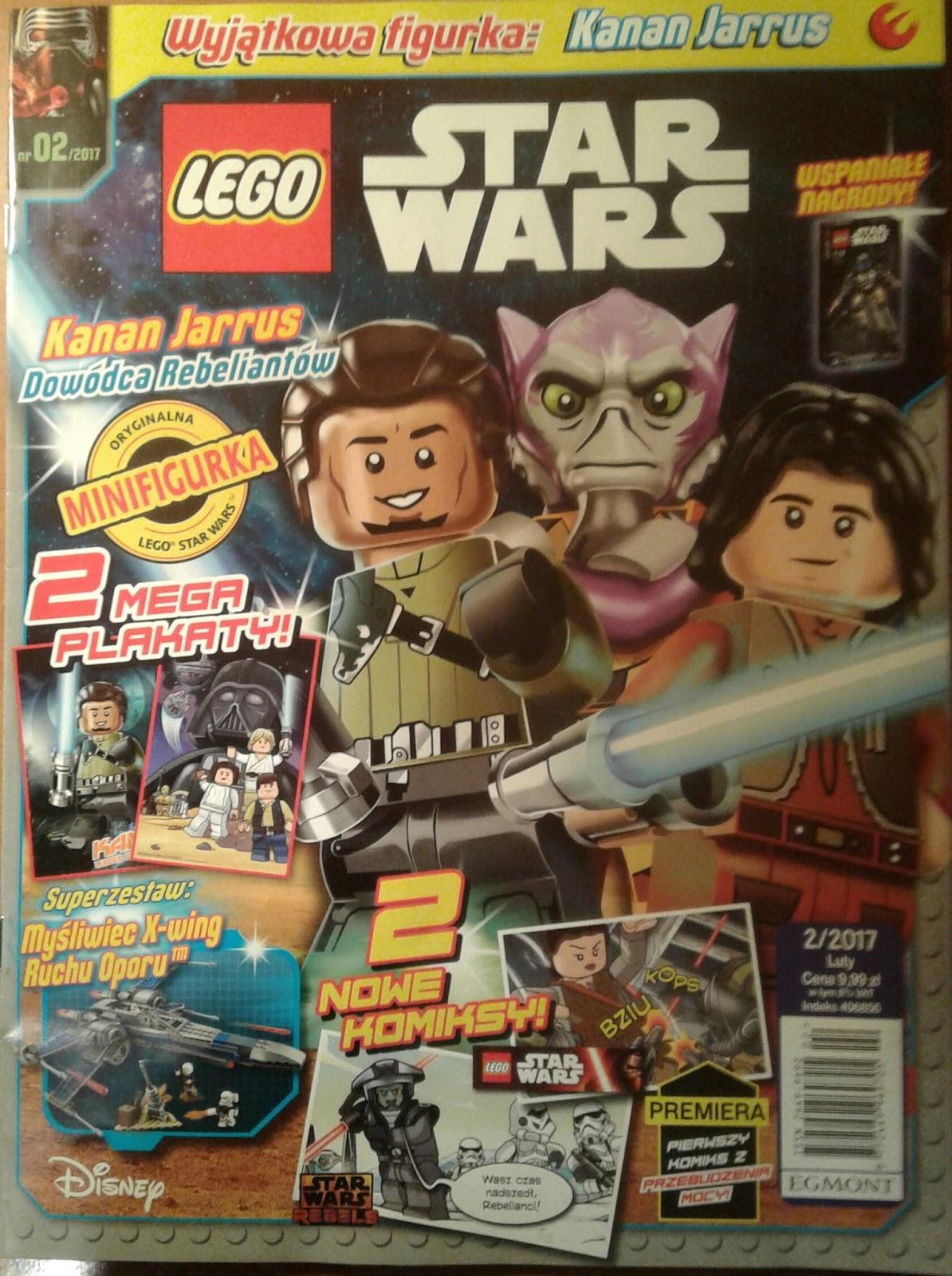 Magazyn Lego Star Wars 22017 Już W Kioskach świat Star Wars