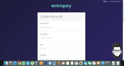 شرح موقعentropay للحصول على بطاقة visa مجانا
