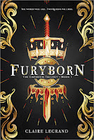 Furyborn, by Claire Legrand book cover and review