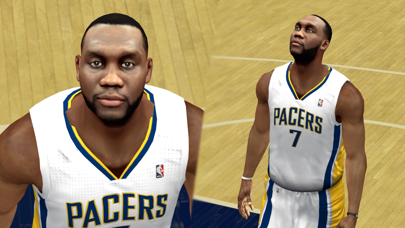 Al Jefferson Cyberface Realistic [HD&SD] [FOR 2K14] NBA 2K