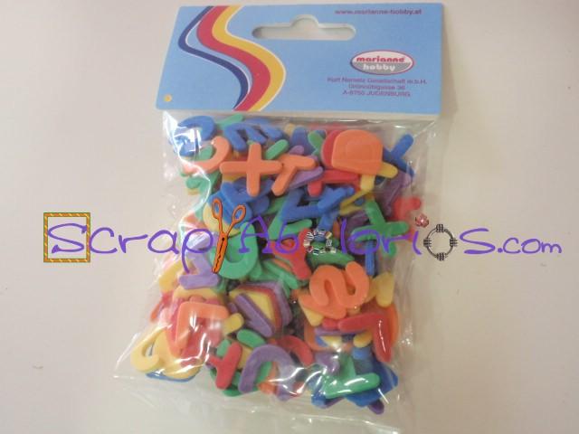 Scrapyabalorios formas cortadas de goma eva - Formas goma eva ...
