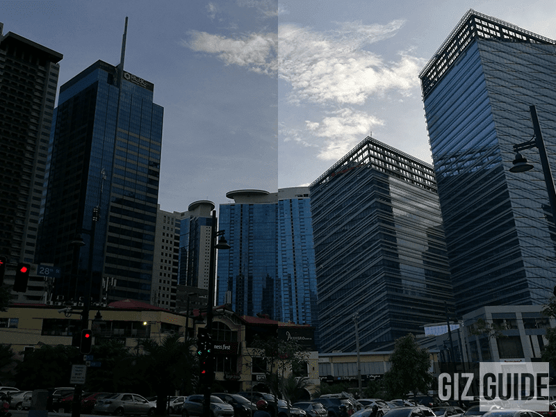 Normal vs HDR comparison