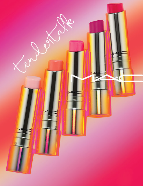 mac tendertalk lip balms