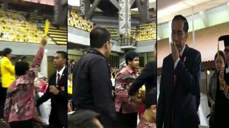 Wah, Insiden Kartu Kuning, Pendukung Jokowi Ini Ancam Bunuh Aktivis BEM UI