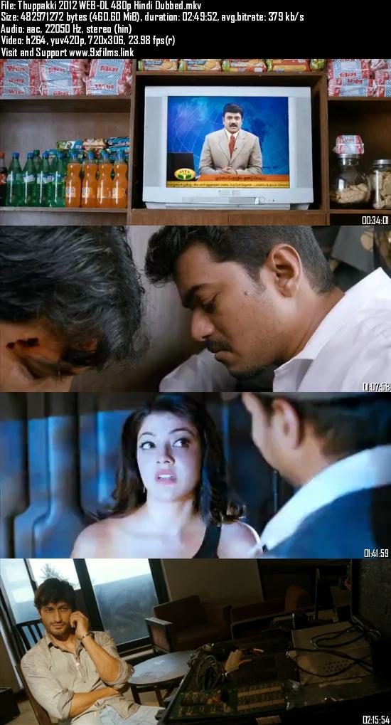 Thuppakki 2012 WEB-DL 480p Hindi Dubbed
