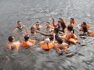 Encontro das Águas Rio Negro e Rio Solimões