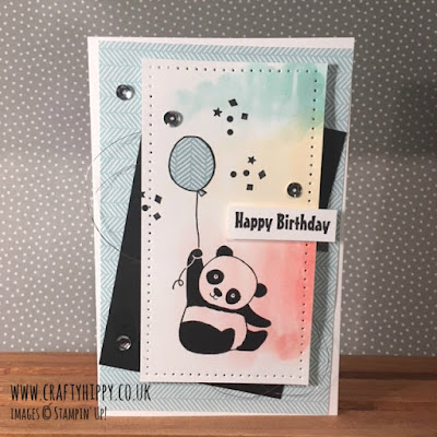 Create beautiful cards with the Party Pandas stamp set from Stampin' Up!