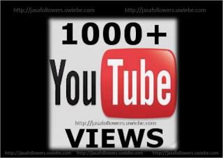 Jasa Tambah 1000 Youtube Views