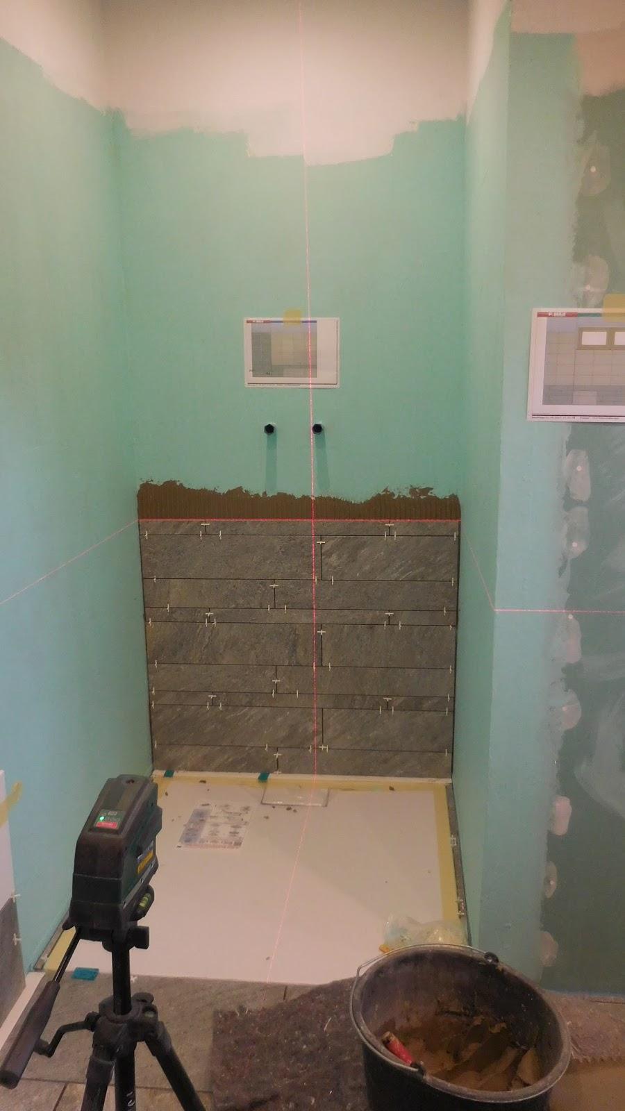 Schroli S Baublog Badezimmer Verfliesen