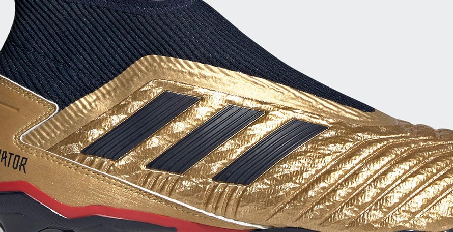 06152219609f Besides the six different high-tier boots and sneakers, the Adidas Predator  Icon 25 Year pack also includes a cheap Predator 19.3 Laceless.