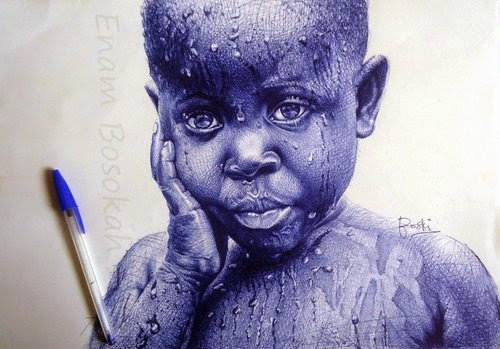 17-Life-Portrayed-by-a-Ballpoint-Pen-Enam Bosokah-www-designstack-co