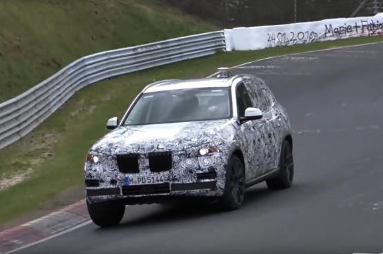 2019 BMW X5 Testing Video