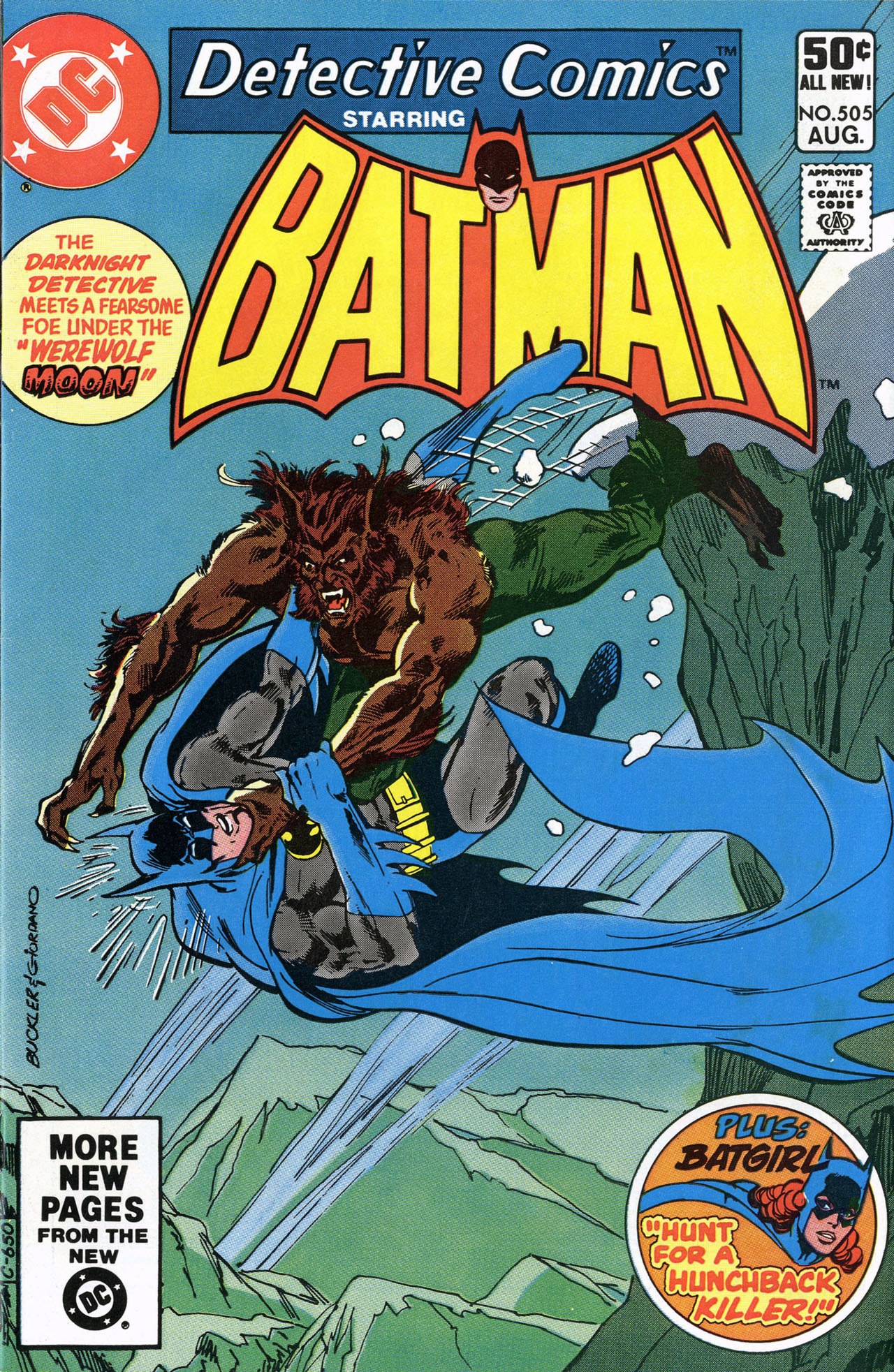 Detective Comics (1937) 505 Page 1