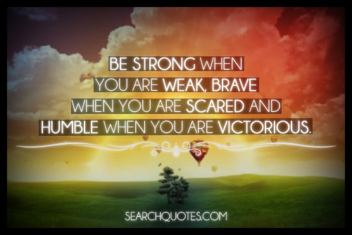 Be Strong When You Are Weak Quote: Zefanya Sacharissa's: December 2012
