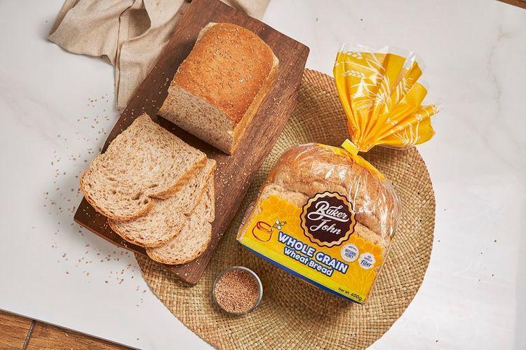 Healthy Baker John wheat bread to make easy sandwich recipes