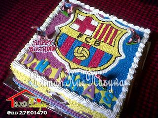 Rumah Kue Nasywa Cake Fc Barcelona