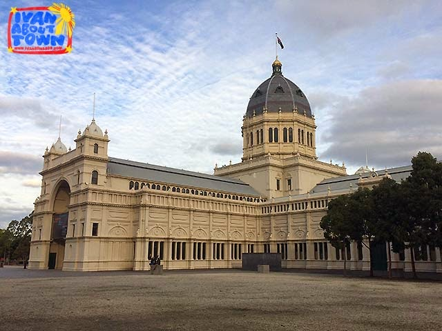 Royal Exhibition Building in Melbourne, Australia