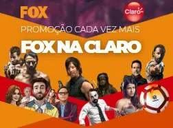 Promoção Fox e Claro 2019 Cada Vez Mais Fox Na Claro - Viagens e Recargas Celular