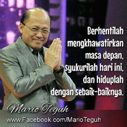 Display Picture BBM Mario Teguh