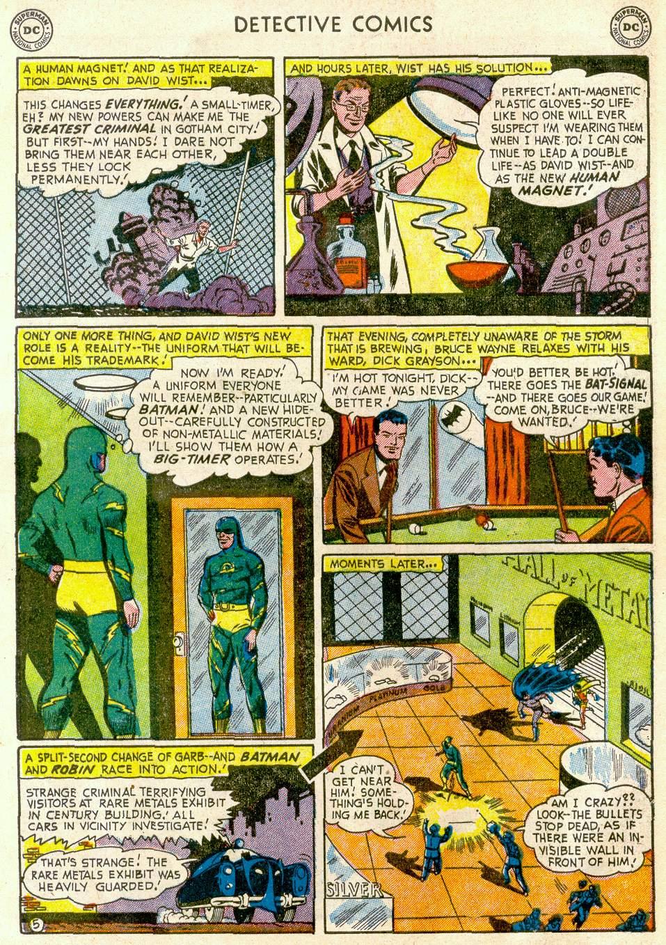 Read online Detective Comics (1937) comic -  Issue #181 - 7