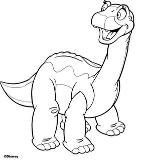 Desenhos De Dinossauros Infantil