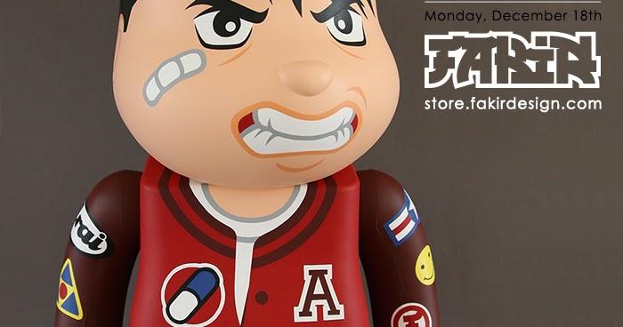 6b3bec6f AKIRA アキラ - Custom 1000% BE@RBRICK by Fakir Design for Dec 18th Release