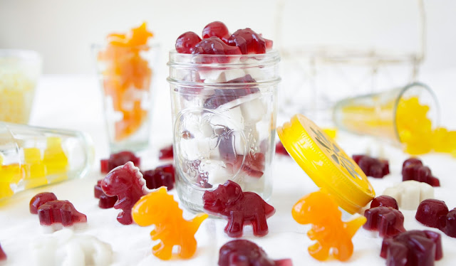 Yummy Gummy Lollies made with Gut Healing Gelatin