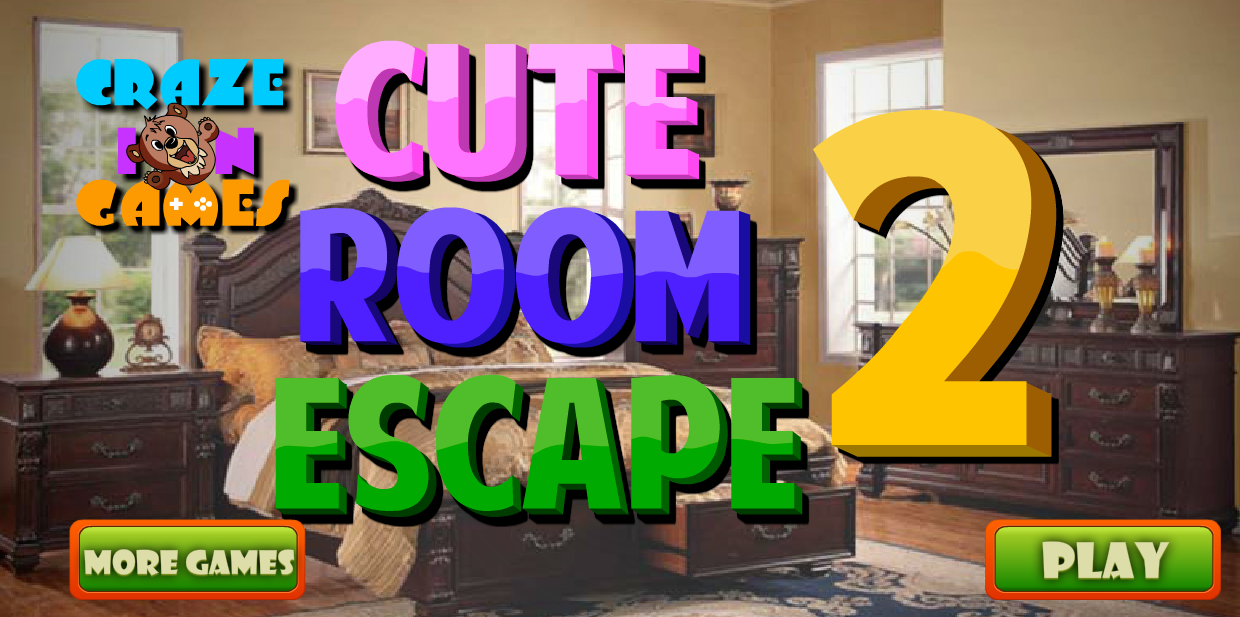 Crazeingames cute room escape 2 walkthrough solution for Escape room tips and tricks