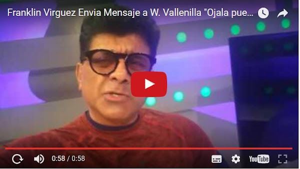 Franklin Virgüez le manda un nuevo video a Winston Vallenilla