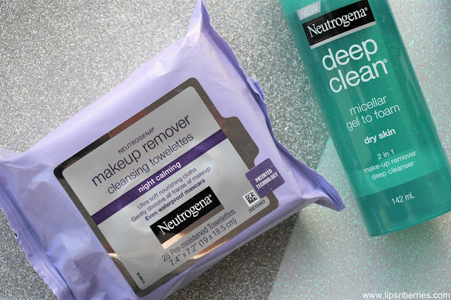 Neutrogena Night Calming Makeup remover cleansing towelettes review