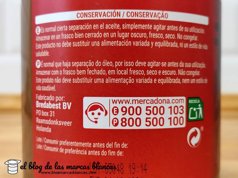 Fabricante de la Crema de cacahuetes 100% HACENDADO (Mercadona) en el blog de las marcas blancas