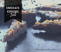 Chocolate Espresso Tart / This and That: An easy decadent no-cook chocolate dessert