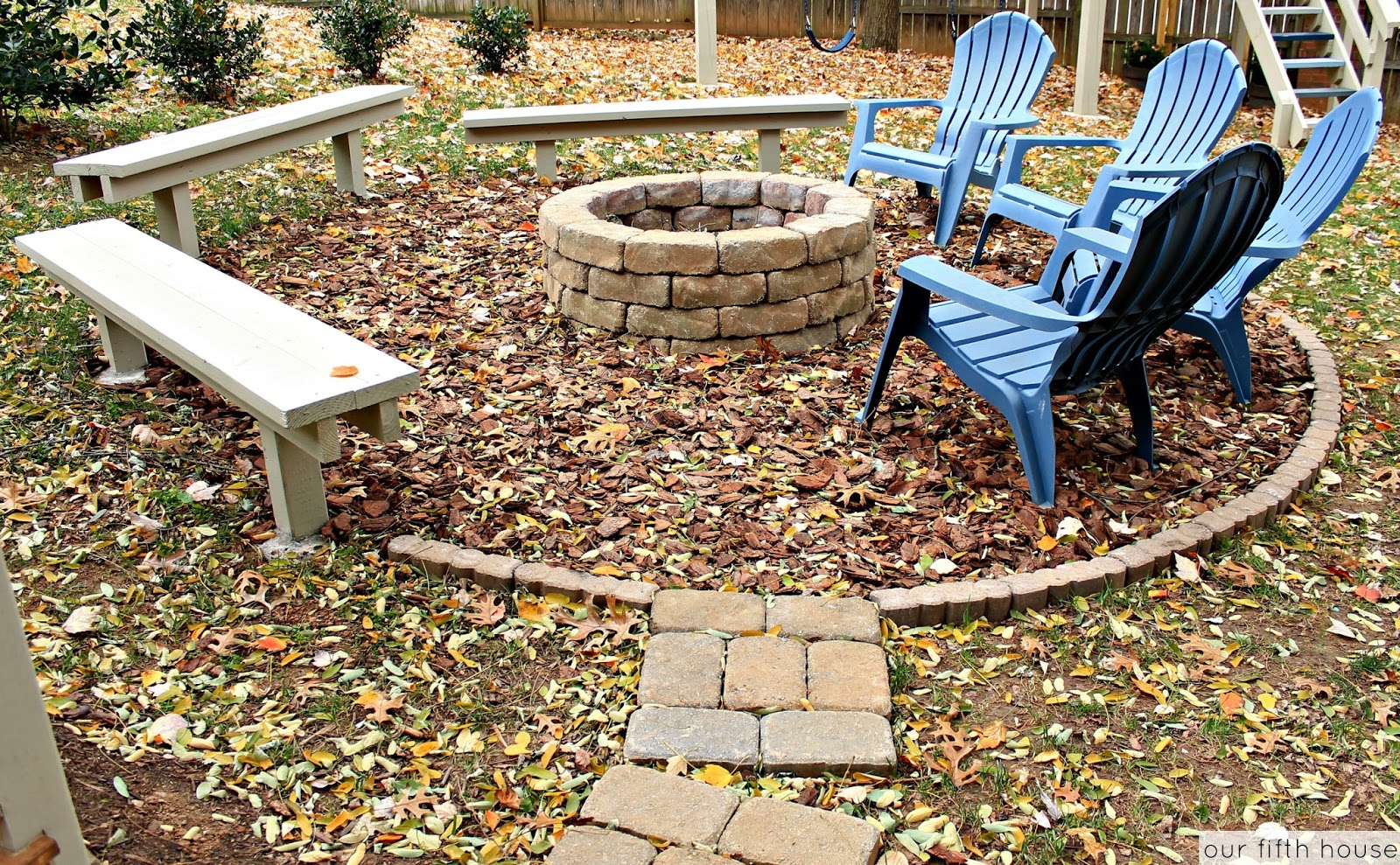 diy backyard campfire fire pit our fifth house